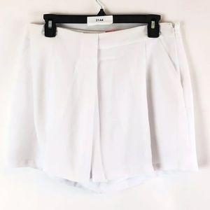Catherine Malandrino Hamilton Shorts Size 10 White
